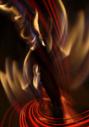 Hildingsson Prints - Fire dance Print by Johnny Hildingsson