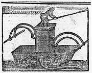 Colonial Man Photos - Fire Engine, 1769 by Granger