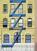Escape Originals - Fire Escape Blue Yellow by Michiyo Fukushima