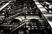 Escape Photo Originals - Fire Escape by Ed Bundy