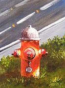 Bravery Originals - FIre Hydrant by Angela Sullivan