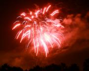 Fire Works Photos - Fire In The Sky by Monica Werner