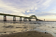 Long Island New York Prints - Fire Island Inlet Bridge Print by Vicki Jauron