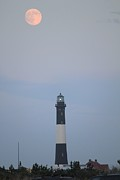 Scenic Photos - Fire Island Light House  by Scenesational Photos