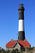 Coastal Photos - Fire Island Lighthouse by Scenesational Photos