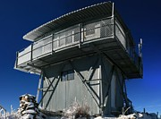 Observation Posters - Fire Lookout Tower Poster by Wyatt Rivard
