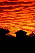 Florida House Photo Originals - Fire Sky by Florene Welebny