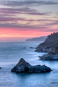 Big Sur Posters - Fire Sky Poster by Michael Breshears