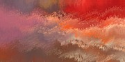 Clouds Digital Art - Fire Sky by Wally Boggus