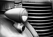 Paint Photograph Prints - Fire Truck Detail Print by Perry Webster