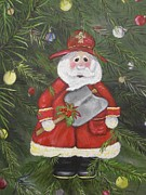 Firefighter Originals - Firefighter Santa by Bobbi Whelan