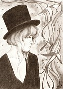 Fireflies Print by Michelle Kinzler