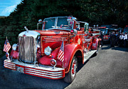 Sdr Photos - Fireman - 1949 and it still runs  by Mike Savad
