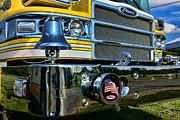 Fireman - Pierce Fire Truck Print by Paul Ward