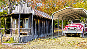 Arkansas Photo Posters - Fireman Cottage Poster by Douglas Barnard