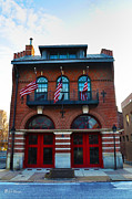 Hall Digital Art Prints - Firemans Hall Philadelphia Print by Bill Cannon