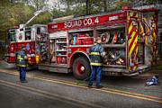 Mike Savad - Firemen - The modern fire truck