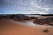 Wester Ross Prints - Firemore Beach Loch Ewe Print by John McKinlay