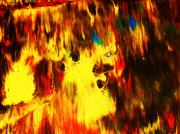 Intense Paintings - ...fires Face.. by Adolfo hector Penas alvarado