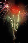 Firework Display Posters - Firework display Poster by Sami Sarkis