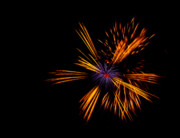 Celebration Art Print Photo Prints - Firework Fun Print by Dawn OConnor