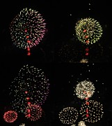 Pyrotechnics Prints - Firework lifecycle 3.2 Print by Meandering Photography