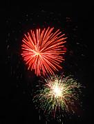 Fireworks 04 Print by Ausra Paulauskaite