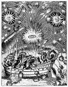 1630 Prints - Fireworks, 1630 Print by Granger