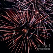 Fireworks Prints - Fireworks 2 Print by Balanced Art