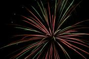 Pyrotechnics Prints - Fireworks 2 Print by Ron Read