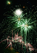 Bursting Photos - Fireworks 4 by Michael Peychich
