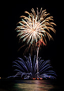Fireworks Prints - Fireworks  Abound Print by Bill Pevlor