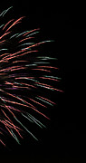 4th July Photo Prints - Fireworks Abstract 1 Print by Marilyn Hunt