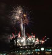 Denver Photos - Fireworks at the Field by Kevin Munro