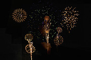 Fireworks Prints - Fireworks Print by Bill Cannon