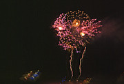 Pyrotechnics Prints - Fireworks Print by David Chance