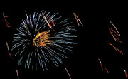 4th July Photo Prints - Fireworks Fun 1 Print by Marilyn Hunt