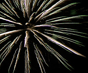 4th July Photo Prints - Fireworks Fun 12 Print by Marilyn Hunt