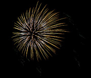 4th July Photo Prints - Fireworks Fun 7 Print by Marilyn Hunt