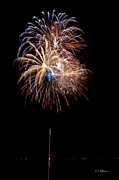 4th July Photo Framed Prints - Fireworks III Framed Print by Christopher Holmes