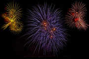 Pyrotechnics Photo Prints - Fireworks Print by Joana Kruse