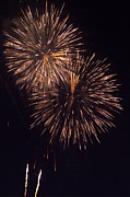 Bastille Photo Prints - Fireworks light Print by Sami Sarkis
