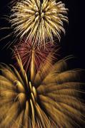 Holidays Celebration - Fireworks by Mary Van de Ven - Printscapes
