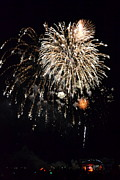 Pyrotechnics Photo Prints - Fireworks Print by Michelle Calkins