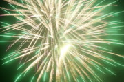 Fireworks Print by Ronald Britton