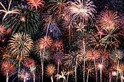 Fireworks Spectacular II Print by Ricky Barnard