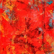 Fireworks Mixed Media Originals - Fireworks by Suzanne Kfoury