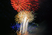 Pyrotechnics Prints - Fireworks11 Print by David Chance