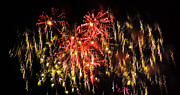 Pyrotechnics Prints - Fireworks5 Print by David Chance