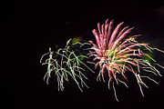 Pyrotechnics Prints - Fireworks6 Print by David Chance